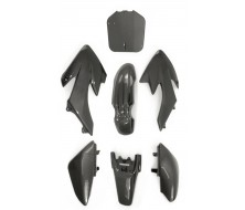 Kit plastique CRF50 carbon