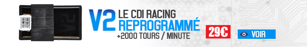 V2 cdi racing reprogrammé booste votre moteur de dirt Bike Pit bike Mini Cross