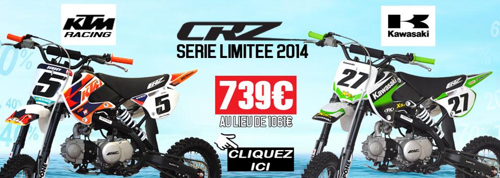 Dirt Bike CRZ Serie Limitée KTM et Kawasaki
