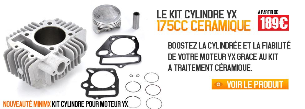 Kit cylindre céramique 175cc pour moteur YX, boostez votre moteur de dirt bike Pit bike chez Mini MX