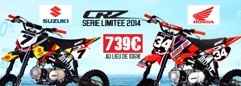 Les editions limitees CRZ lifan 125cc Dirt Bike Pit bike NSTYLE kit déco suzuki yoshimura james stewart honda troy lee design malcom stewart