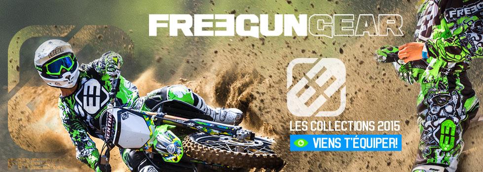 Nouvelle collection FREEGUN 2015 - Pit Bike dirt Bike MiniCross - exclusivit� Mini MX