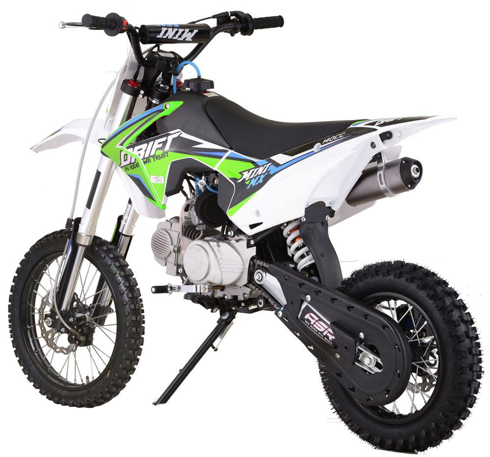 dirt bike mini mx 140cc grande roue 14 17. Black Bedroom Furniture Sets. Home Design Ideas